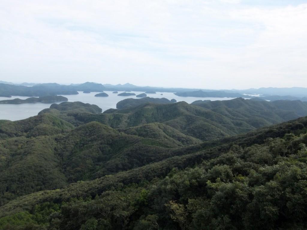 烏帽子岳展望所からの眺め